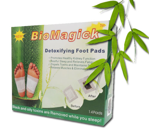 BioMagick Detoxifying Foot Pads
